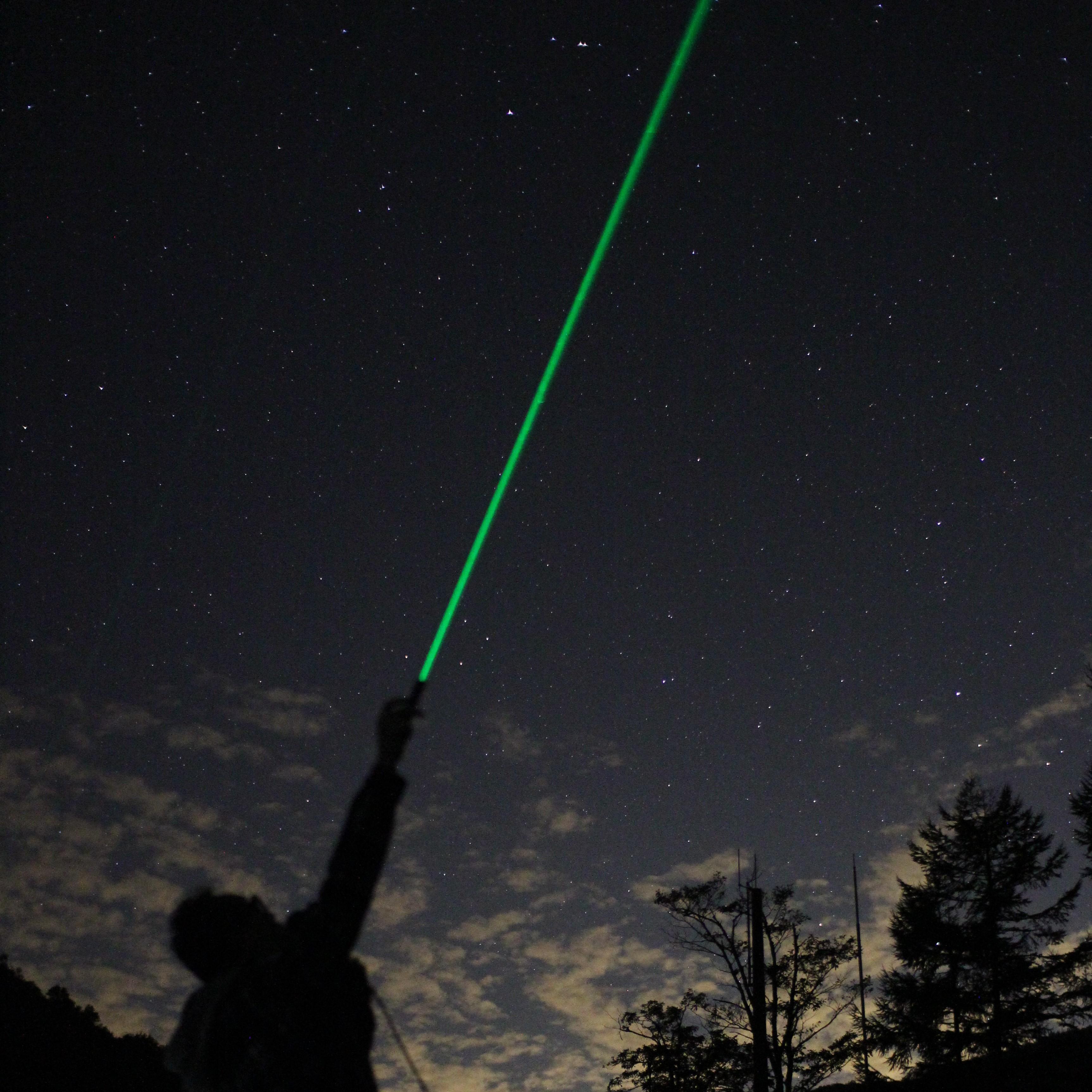 日本一の星空で星空解説