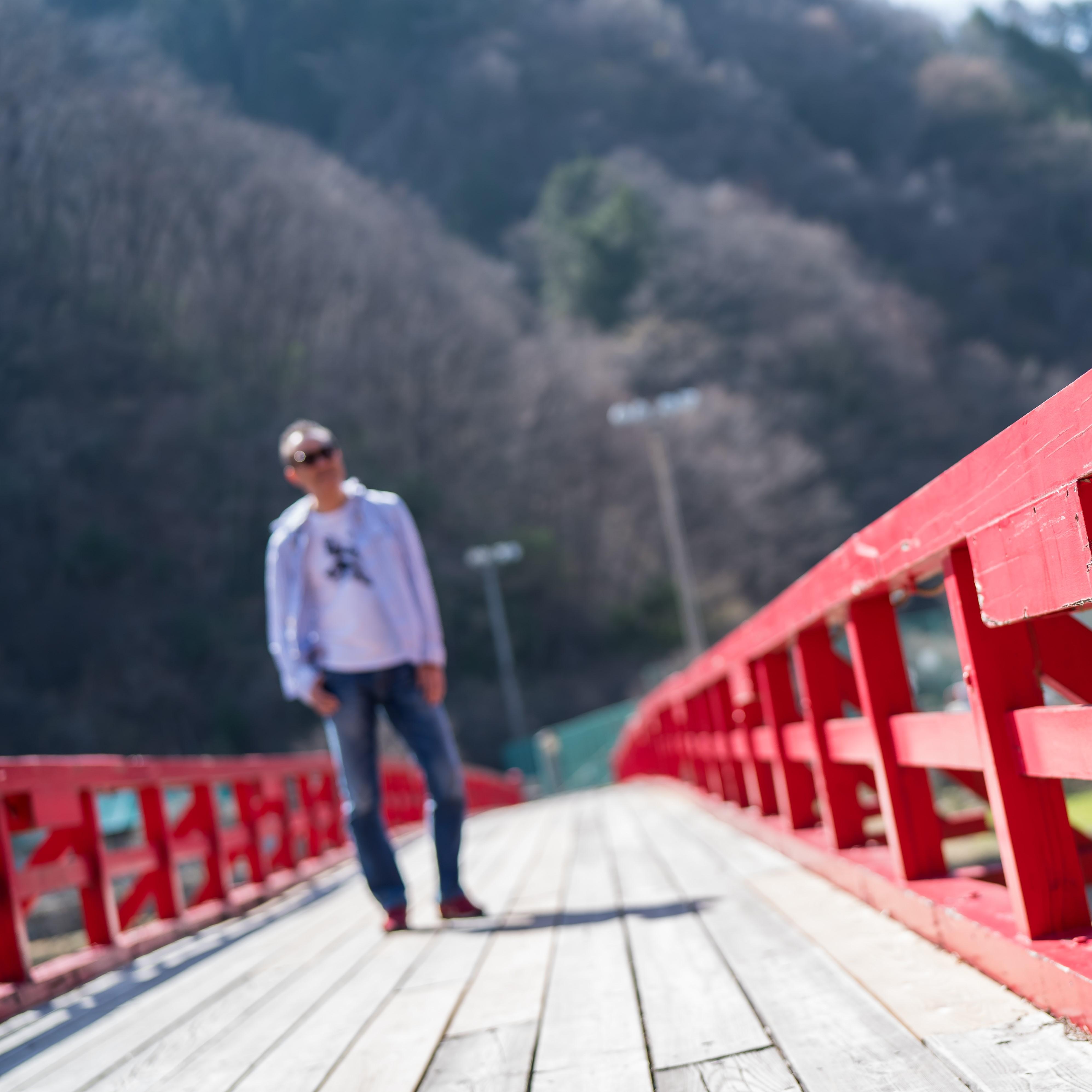 阿智村にある湯瀬橋01