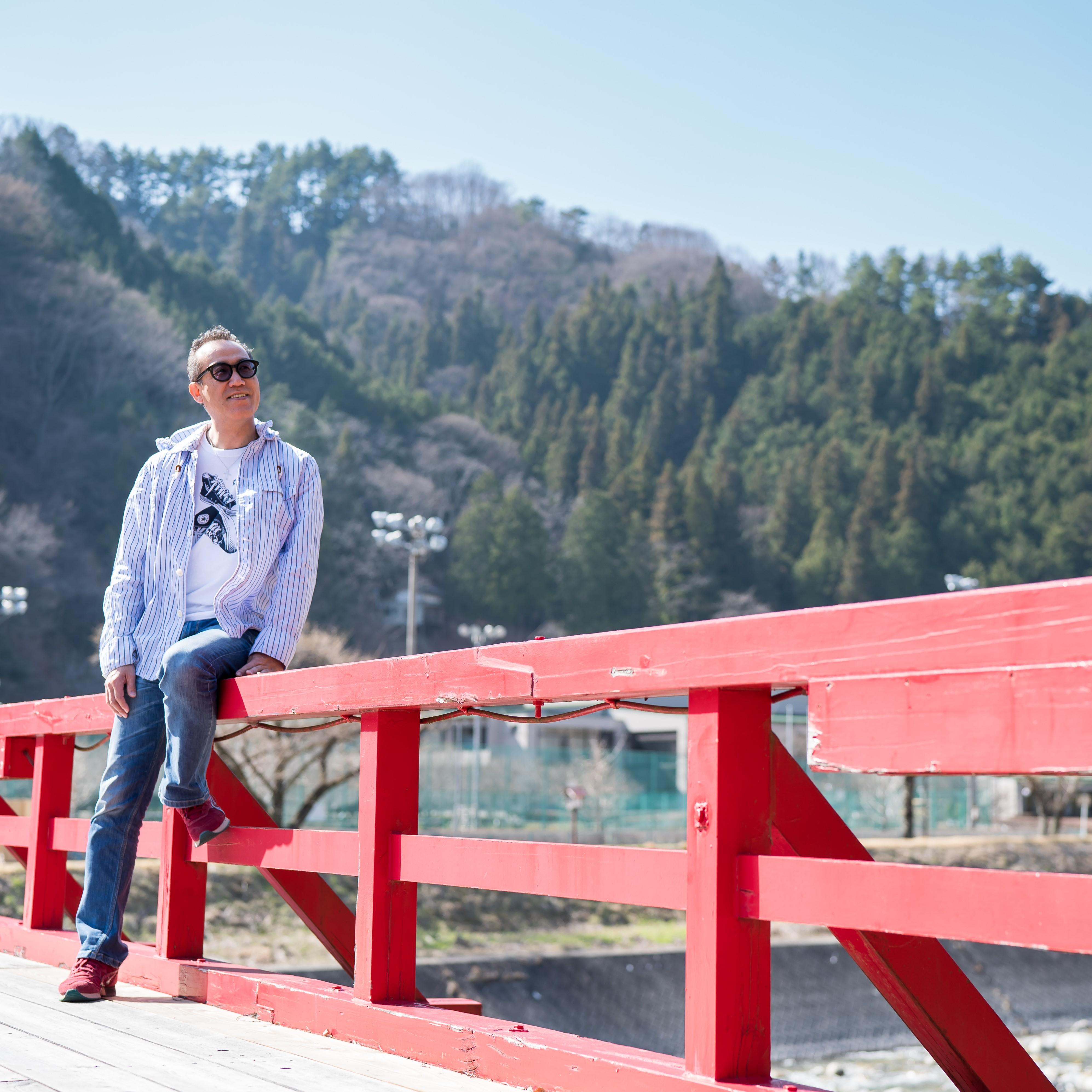 阿智村にある湯瀬橋